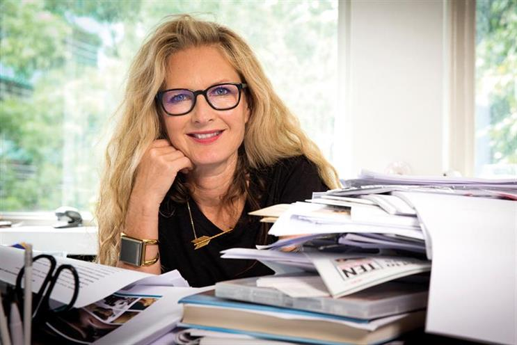 Stanners: now global chairwoman of Saatchi & Saatchi