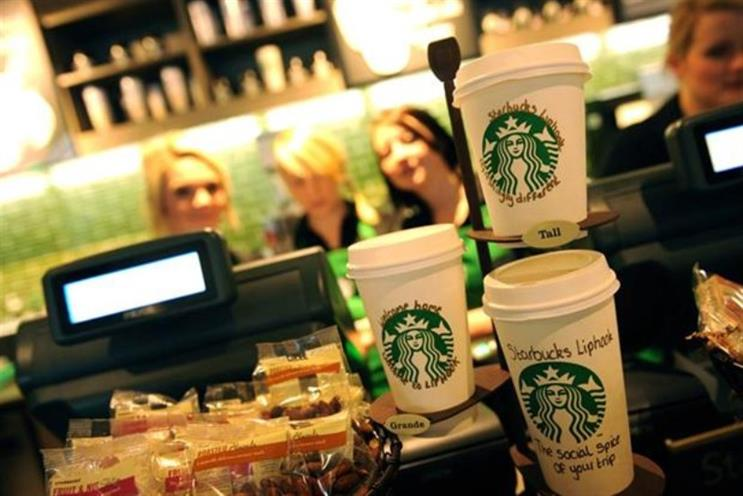 Starbucks: reportedly backing a new 'storytelling' start-up