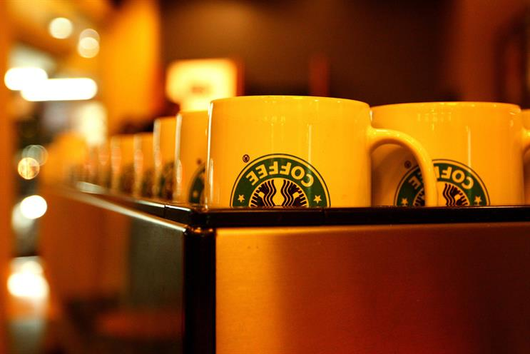 Starbucks: recently appointed Iris and Havas Helia