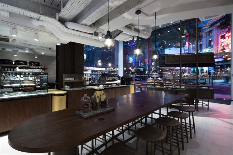 Watch: inside Starbucks' new concept store