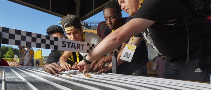 The Shell Eco-marathon at Make the Future Live