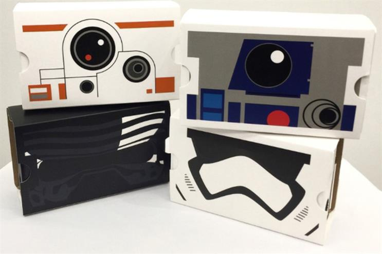 The Google Cardboard designs are in high demand