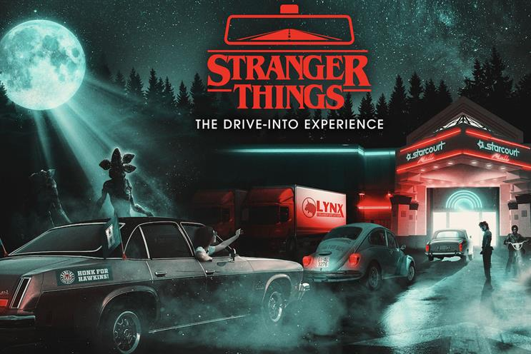 Secret Cinema: guests will explore the Starcourt Mall, Russian labs and the Upside Down