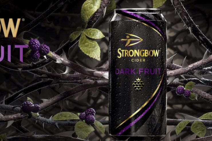 Strongbow creates Dark Fruit pop-up tattoo studio for superfans