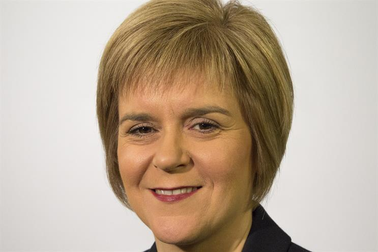 Nicola Sturgeon: Scotland's First Minister warned against negative campaigning