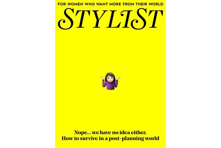 Stylist: has returned to 400,000 print run