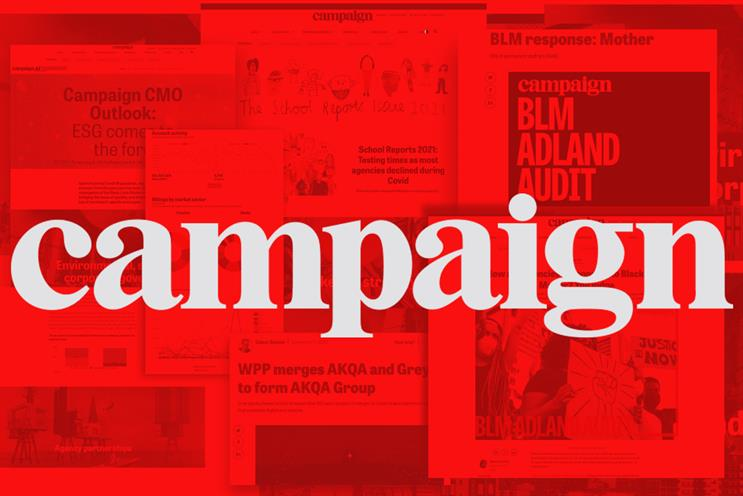 Campaign: has launched a range of new digital and data products in the past year