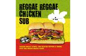 Subway adds Reggae Reggae-branded spicy sub