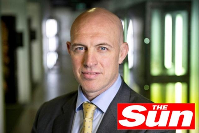 David Dinsmore: editor of The Sun