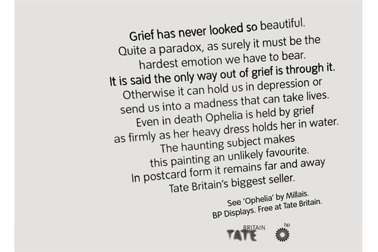 Grey London's work for the Tate has been recognised with eight nominations