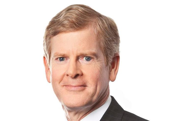 David Taylor: will become P&G's chief executive in November