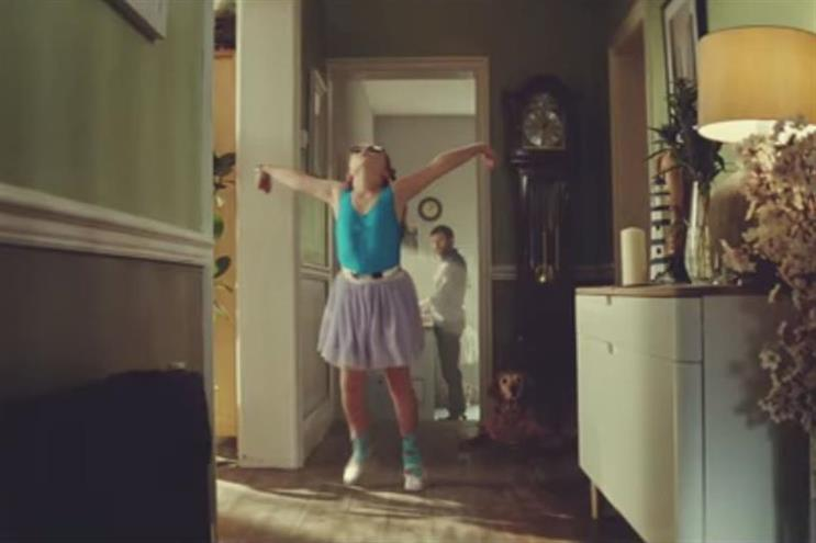 John Lewis: 'Tiny dancer' by Adam & Eve/DDB