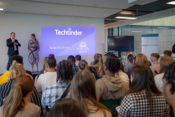 TechTinder: 13 start-ups pitched to brands at Publicis Media's White City headquarters