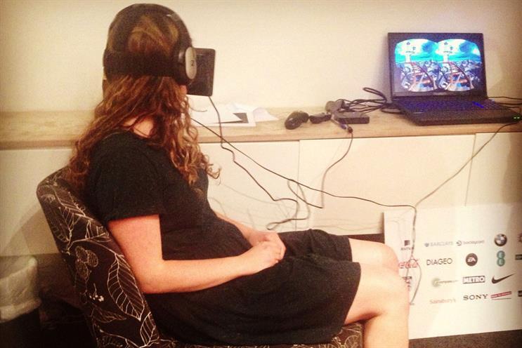 Dare's virtual-reality experiments