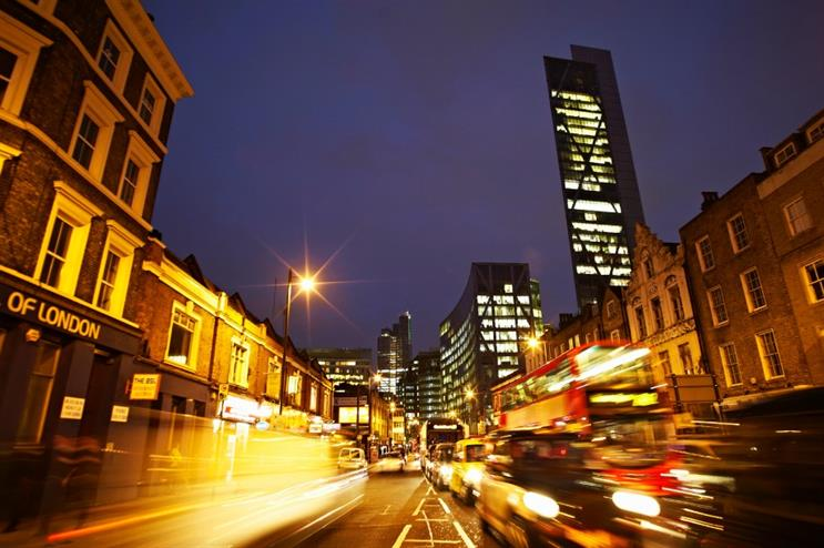 Old Street in east London will host a number of London Technology Week events
