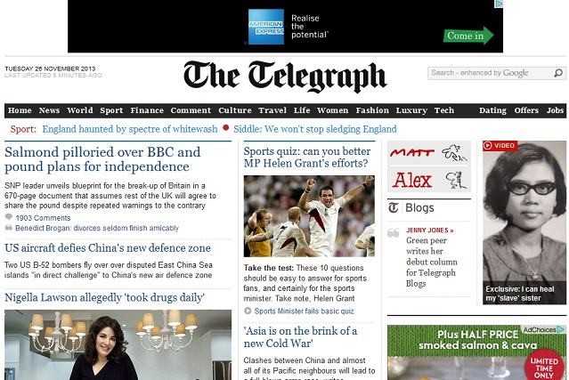 Telegraph dating offers