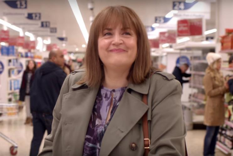 Tesco: the first of the retailer's ongoing series of Christmas ads