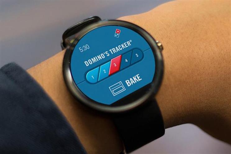 Domino's: unveils smartwatch app