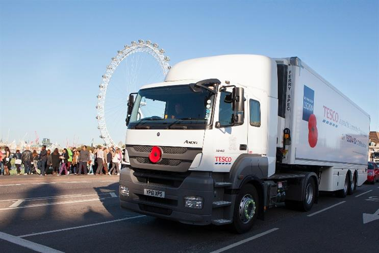 Tesco: retailer may be looking to launch a one hour delivery slot