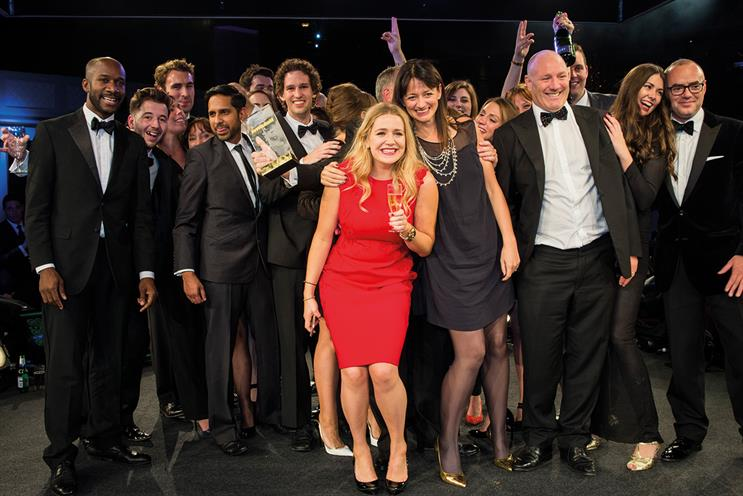 the7stars won Media Week's Media Agency of the Year 2015