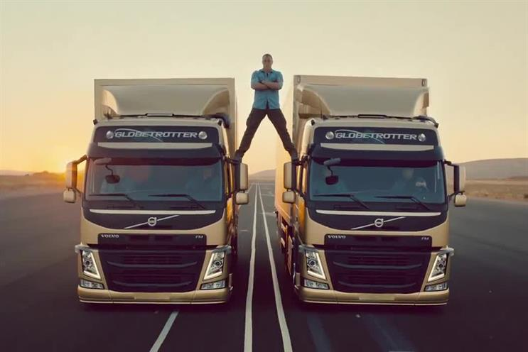 Volvo: the epic split