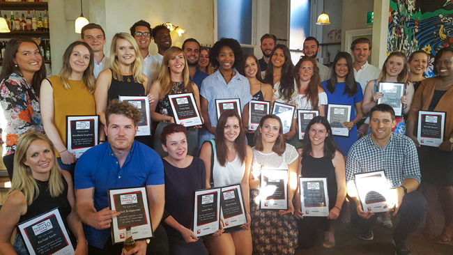 Media Week 30 Under 30: last year's winners