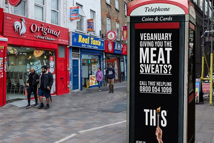 This: ads will be placed near fast-food outlets