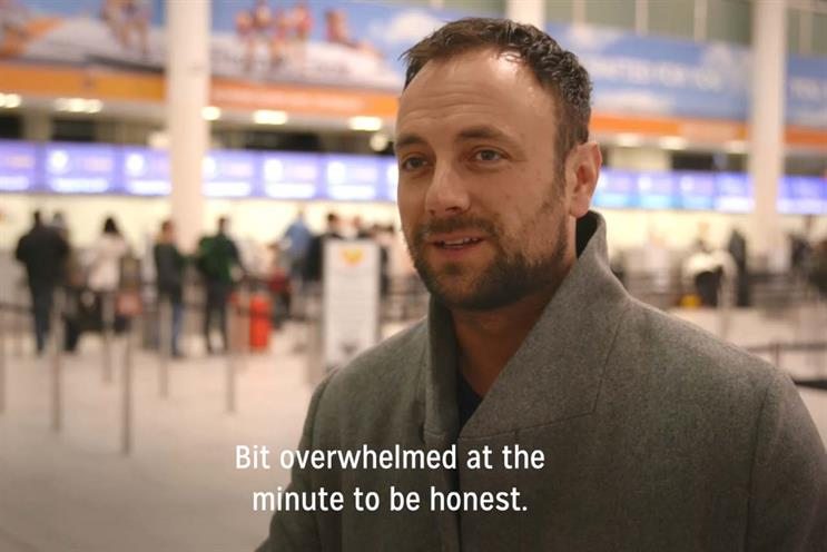Thomas Cook: hypnotised air passengers in recent campaign