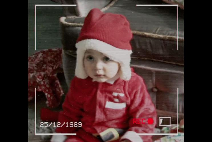 Three: its social media festive campaign celebrates those with a Christmas birthday