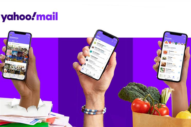 Yahoo: third-most-popular web-based email service