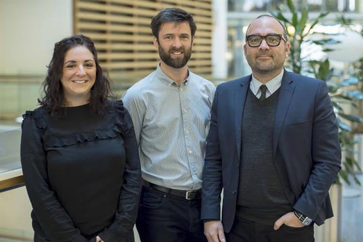 Time Inc: Lauren Abery, Mick Greenwood and Miki Mistrati