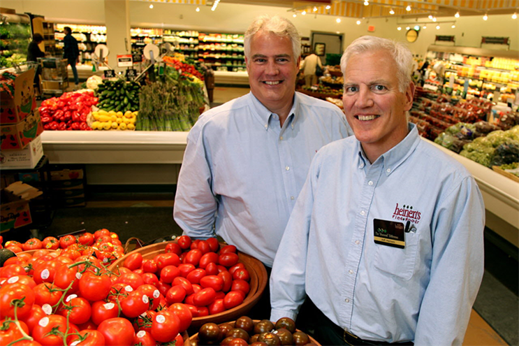 Tom and Jeff Heinen, co-presidents at Heinen's Fine Foods