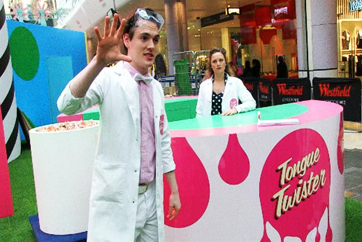 Westfield London hosted a 'Tongue Twister' sensory experience
