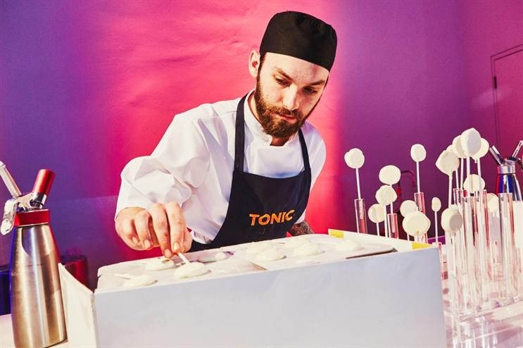 Tonic will cater for the Event Awards 2017