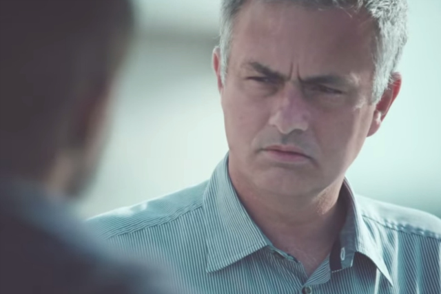 José Mourinho: stars in TV ads for Top Eleven