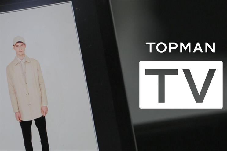 Topman: launched a YouTube channel, Topman TV, last year