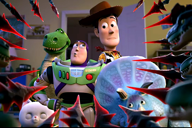 Sky Tv 'looks to the Sky' with it's Toy Story ad