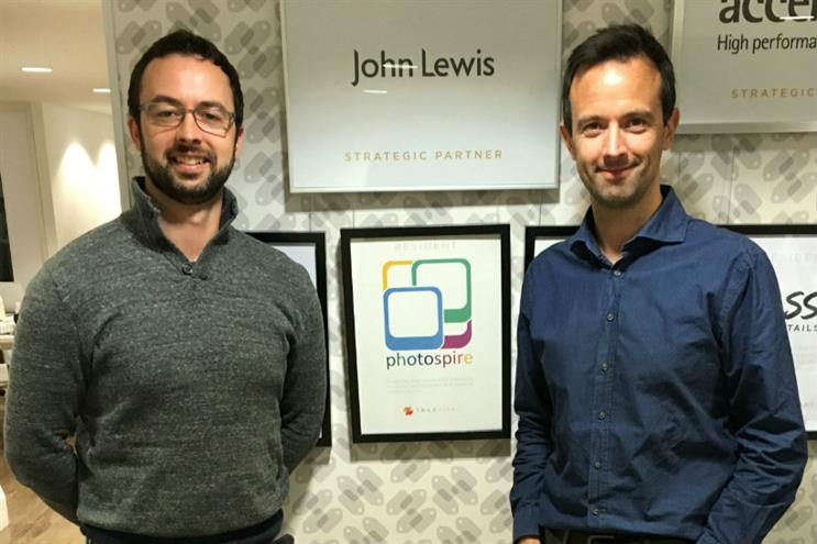 John Lewis start-ups: Photospire founders Dave and Ger O'Meara