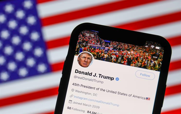 Donald Trump has been locked out of his Twitter account (Picture: Jakub Porzycki/NurPhoto via Getty Images)