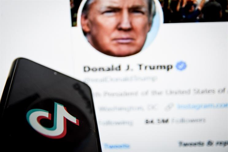 TikTok: branded national threat to US security by Donald Trump