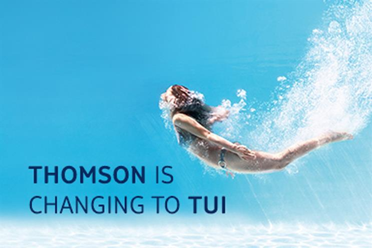 Thomson starts rebranding its network to TUI