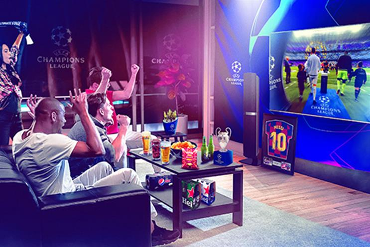 Uefa: viewing experience aims to engage fans watching from home