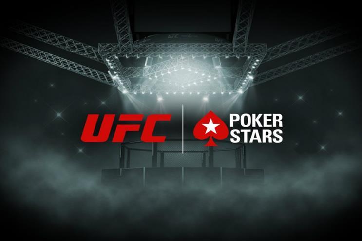 PokerStars: announced UFC partnership recently