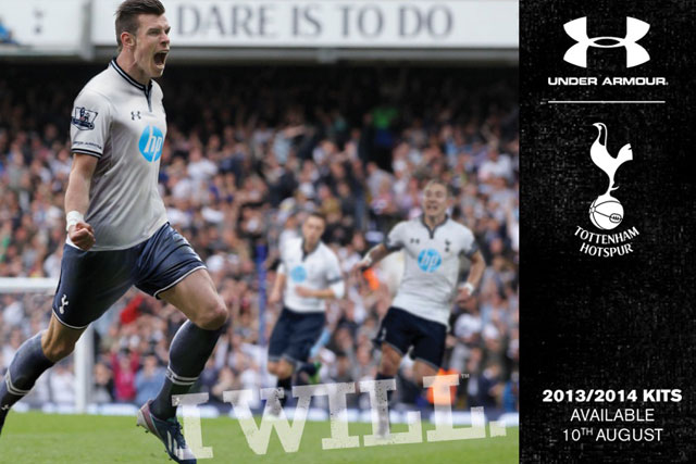 Under Armour: Tottenham Hotspur star Gareth Bale features in brand's campaigns