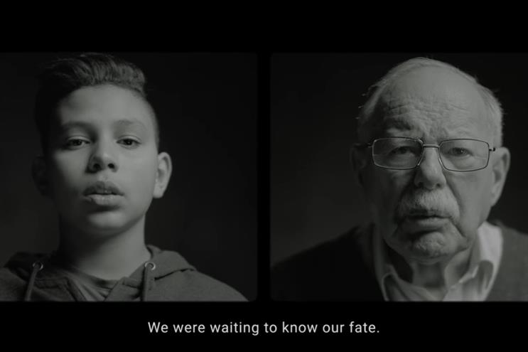 Unicef: last month launched '80 years apart', created by 180 Amsterdam