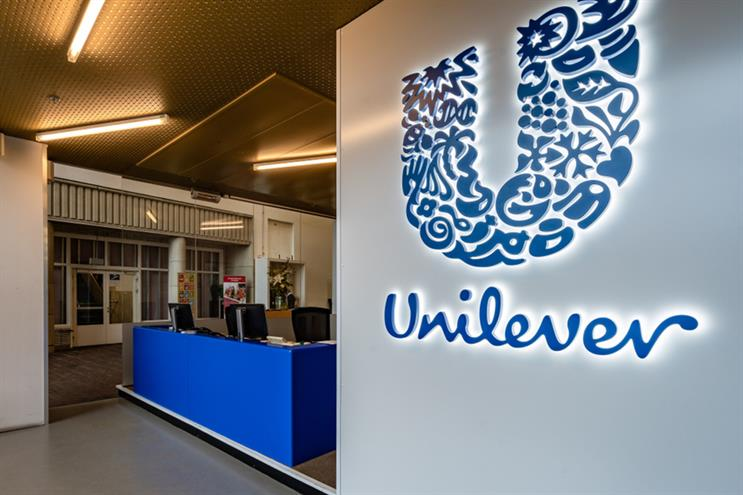Unilever: works with WPP, Omnicom and Interpublic