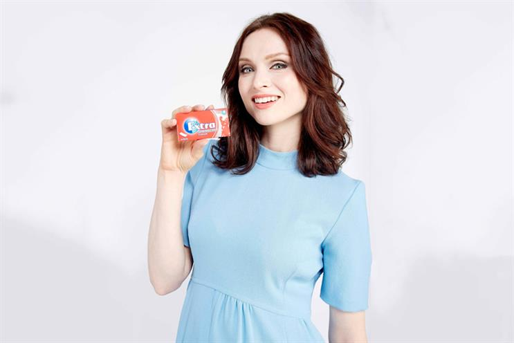 Wrigleys: has signed Sophie Ellis-Bextor