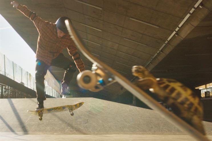 Virgin Money: tortoise on a skateboard aims to set bank apart