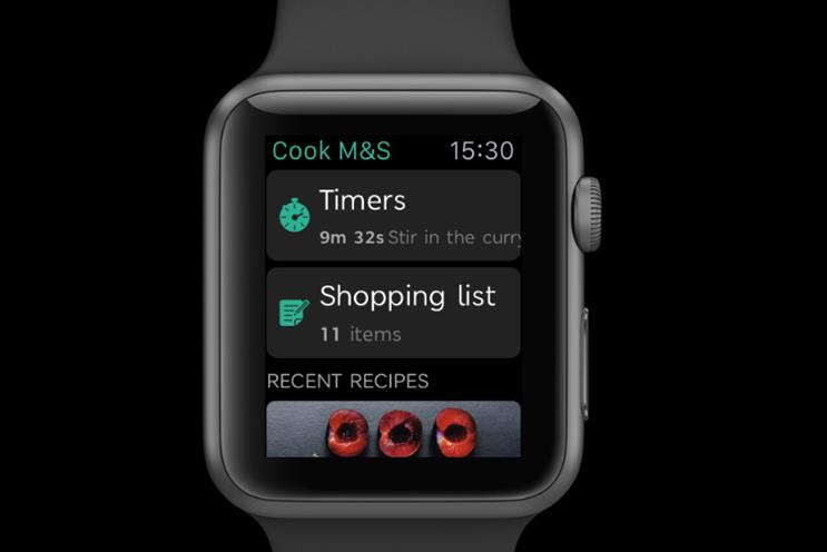 M&S: creates app for Apple Watch