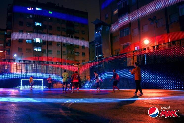 PepsiCo: kicking off three year UEFA sponsorship deal
